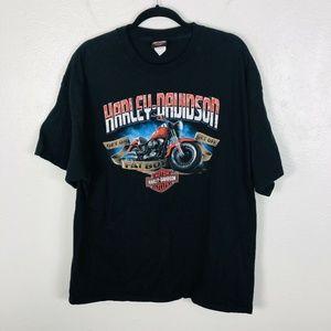 Harley Davidson Black Short Sleeve Graphic T Shirt
